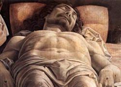 Andrea Mantegna - Lamento sopra il corpo di Cristo