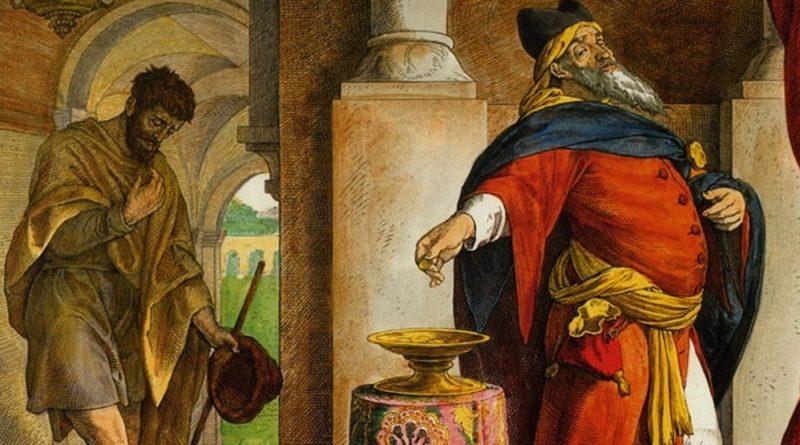 Beda Czcigodny: faryzeusz i celnik