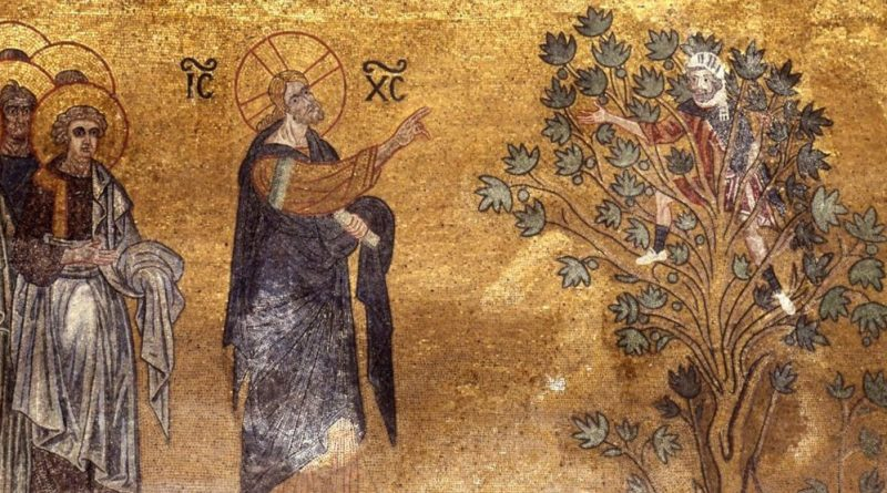 Beda Czcigodny o spotkaniu Jezusa z Zacheuszem