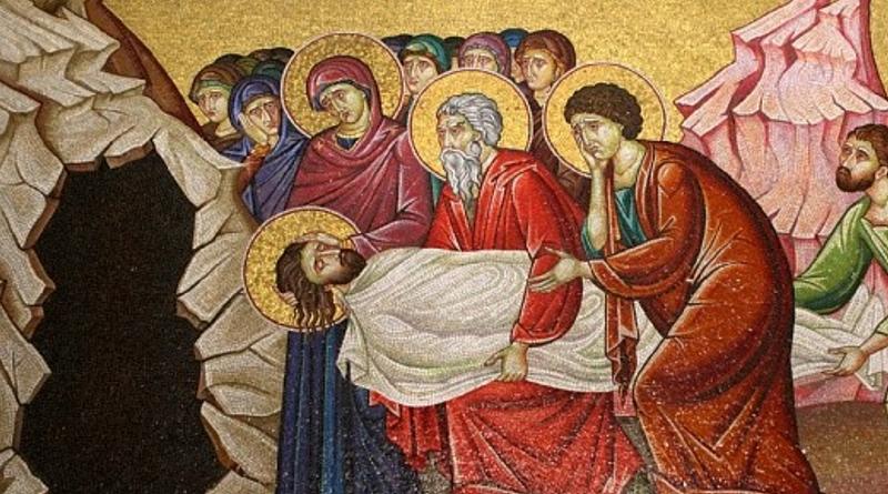 Jan Chryzostom o pogrzebie Pana