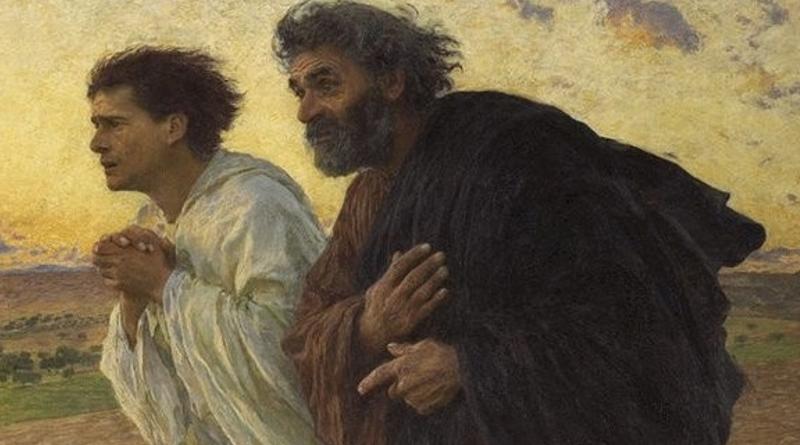 Augustyn: Piotr i Jan u grobu…