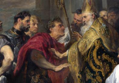 Konflikt biskupa Ambrożego z Teodozjuszem